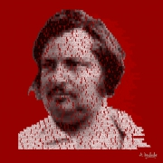 art numerique personnages peau de chagrin art contemporain pop art art digital : Honoré de Balzac